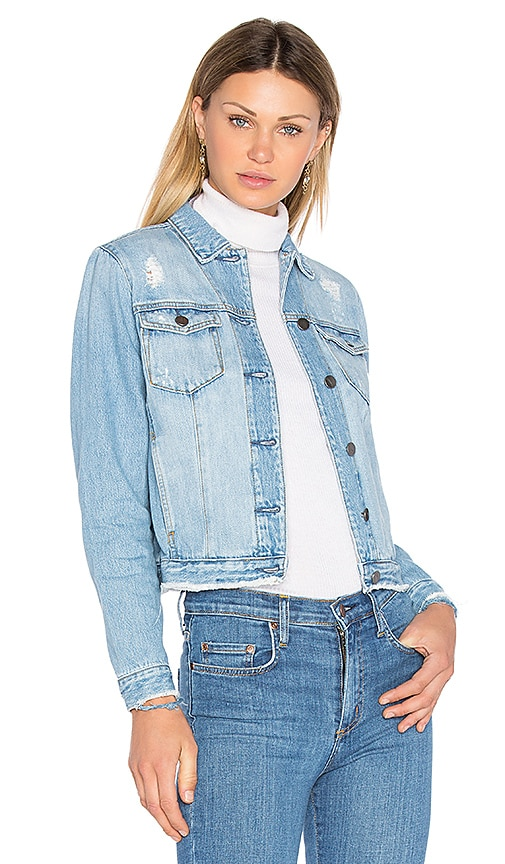 Nobody Denim Heirloom Denim Jacket in Momento
