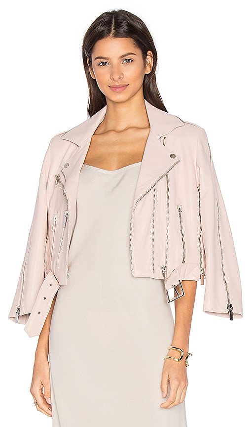 NOUR HAMMOUR Avalon Jacket in Pink
