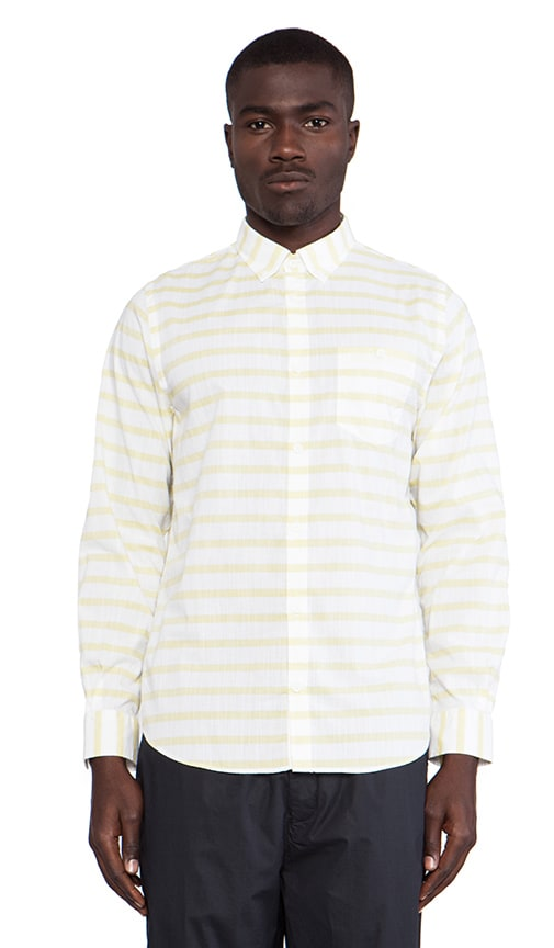 Anton Nautical Cotton Long Sleeve Buttondown