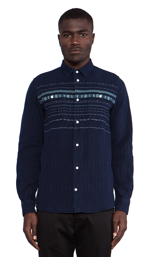 Jonas Lazy Cotton Long Sleeve Buttondown