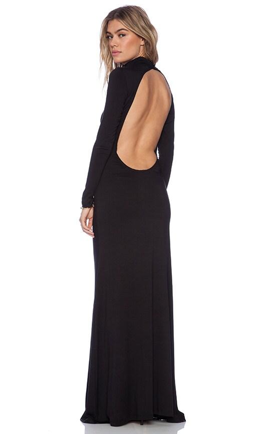 Black Bird Maxi Dress