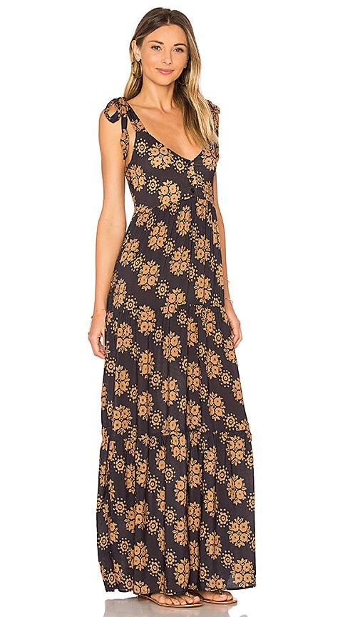 NOVELLA ROYALE Imogen Dress in Charcoal