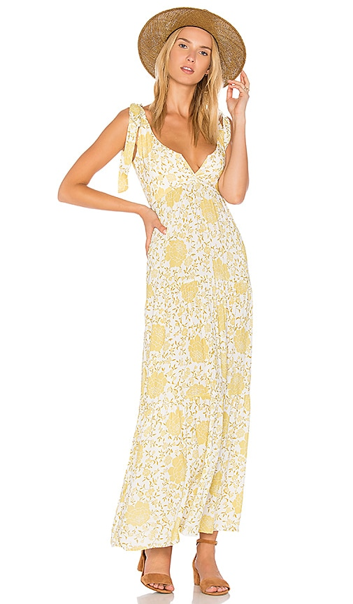 NOVELLA ROYALE Imogen Dress in Yellow