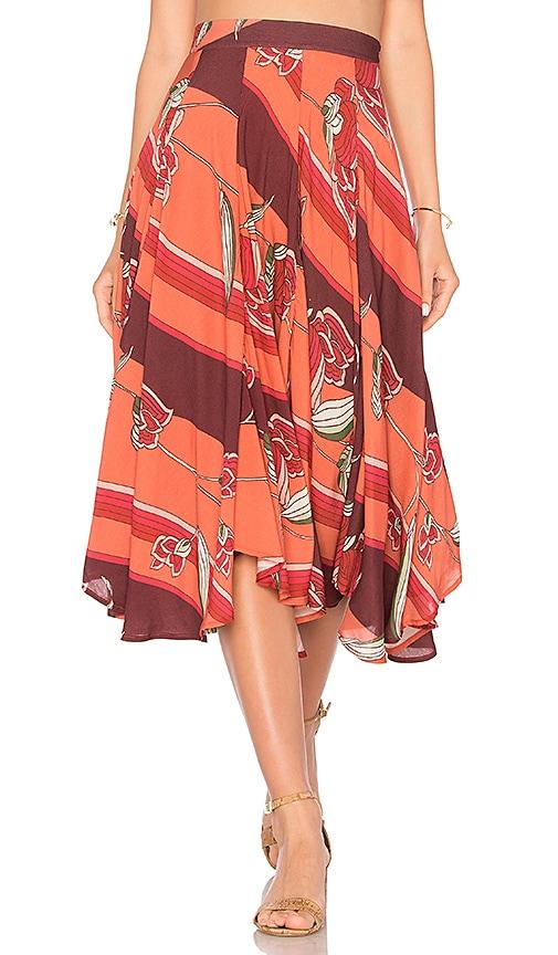 NOVELLA ROYALE Scarlet Skirt in Red