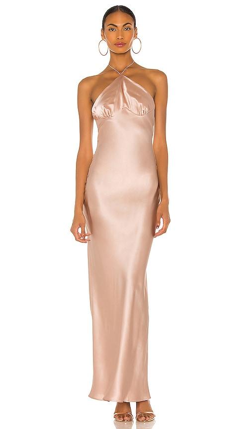 Natalie Rolt Portland Gown in Pink   REVOLVE