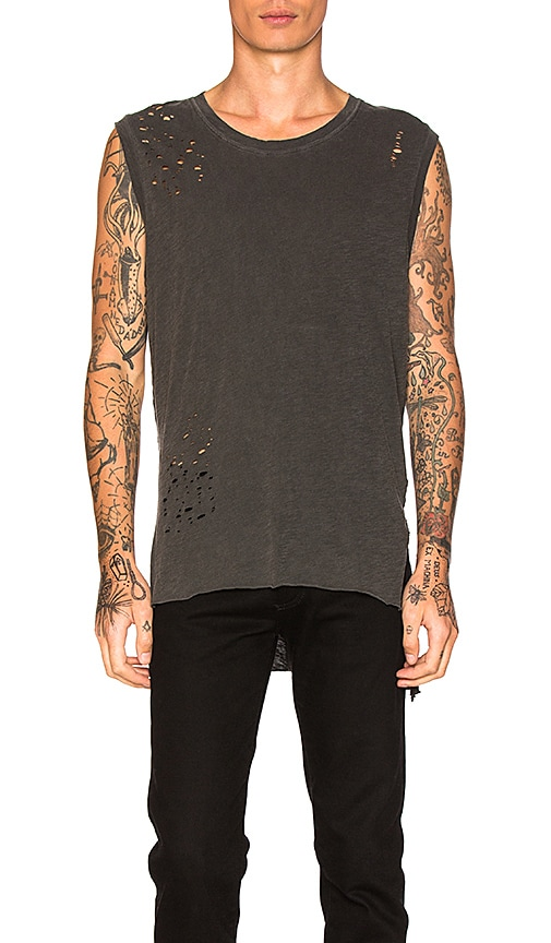 NSF Ethan Tank in Charcoal