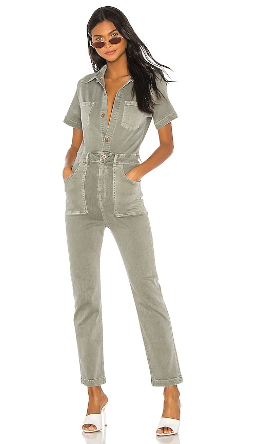 Kami Fitted Patch Pocket Jumpsuit