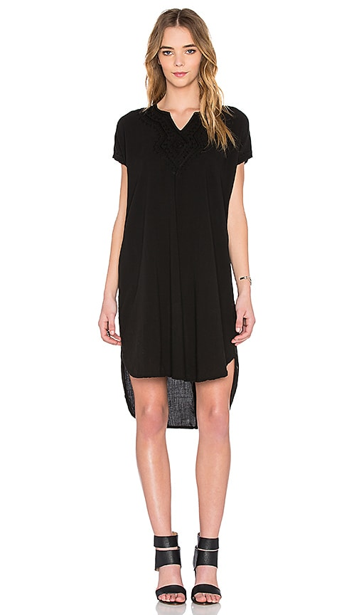 NSF Fawn Dress in Black