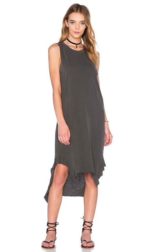 NSF Paulina Dress in Pigment Black