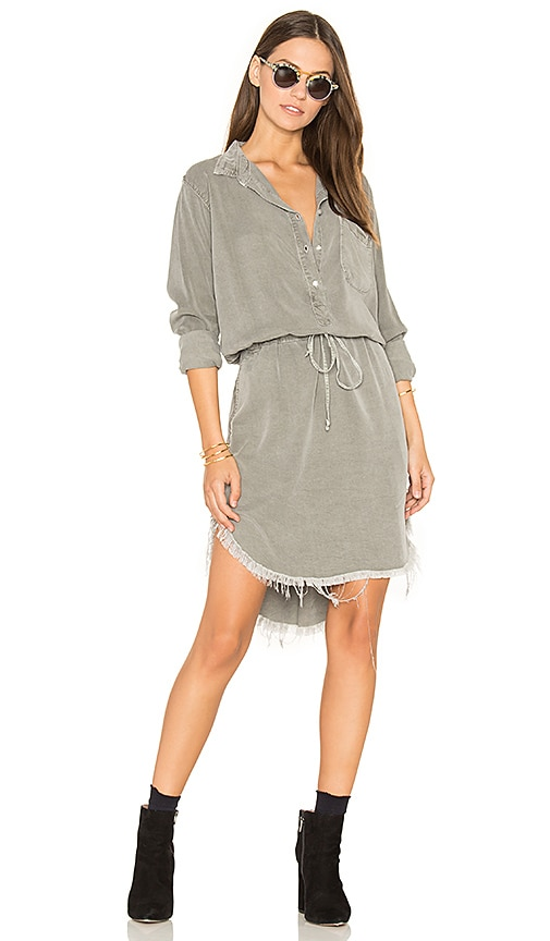 NSF Esther Shirt Dress in Gray
