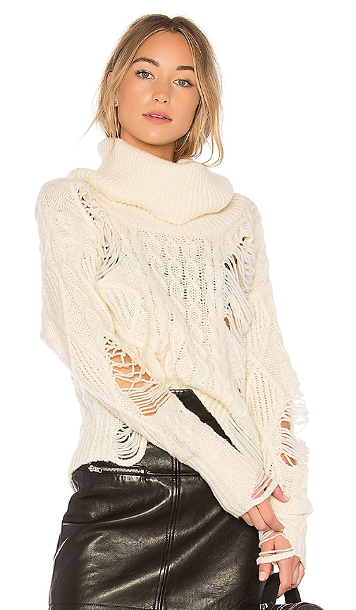 NSF Odelia Sweater in Ivory