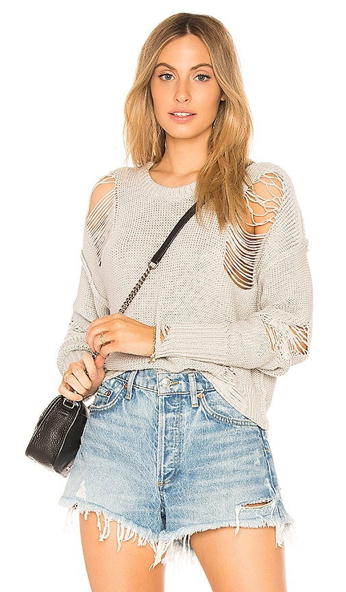 NSF Presley Sweater in Gray