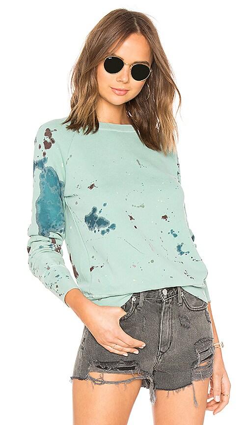 NSF Saguro Splatter Pullover in Mint