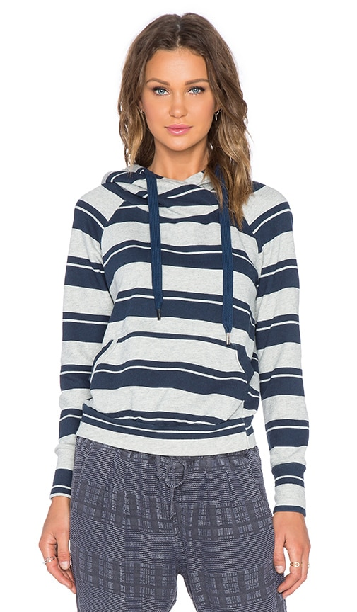 NSF Lisse Hoodie in Heather Stripe