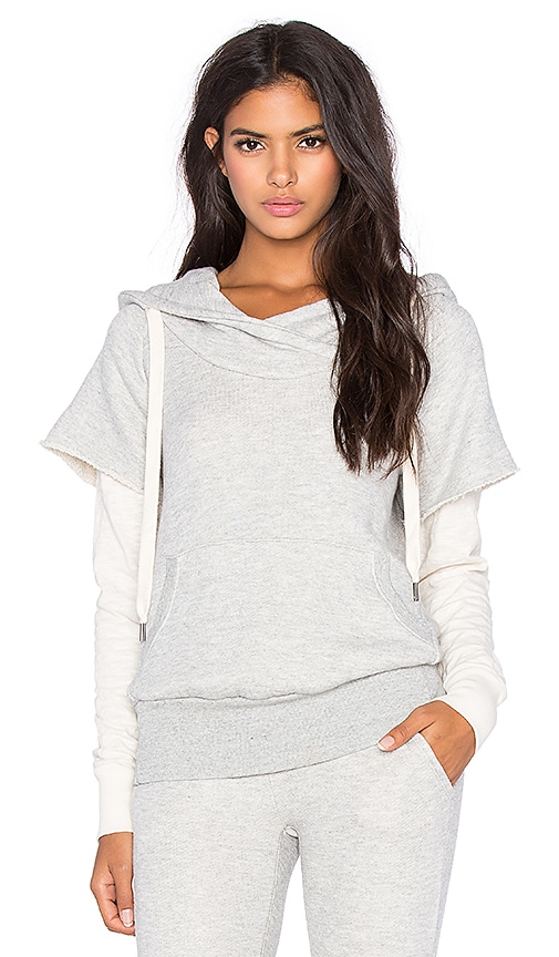NSF Ray Hoodie in Heather Grey & Scour