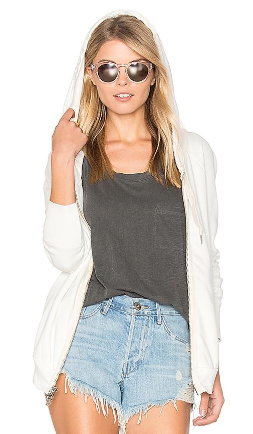 NSF #alldayNSF Roxie Hoodie in White