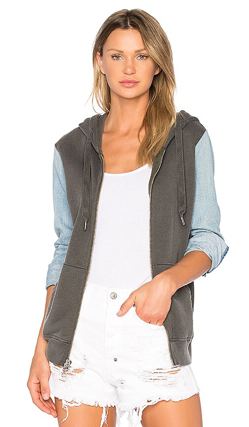 NSF Gretchen Hoodie in Charcoal