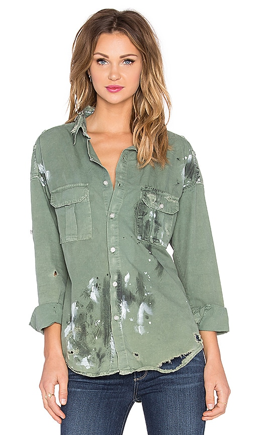 NSF Johnna Top in Army Paint