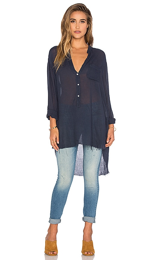 NSF Sera Tunic in Navy