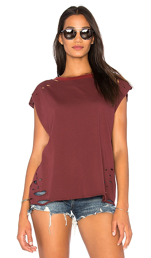 NSF Harley Tee in Burgundy
