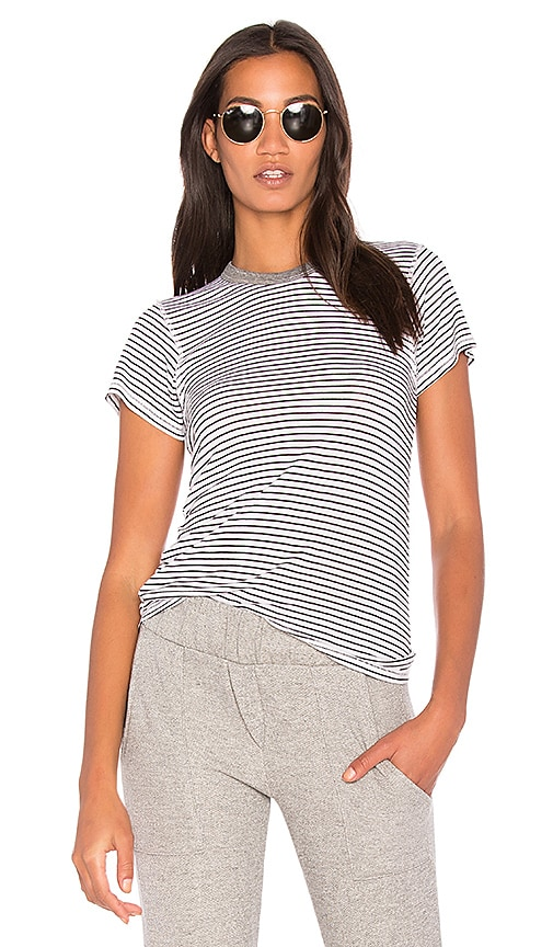 NSF Alessi Stripe Tee in Black & White