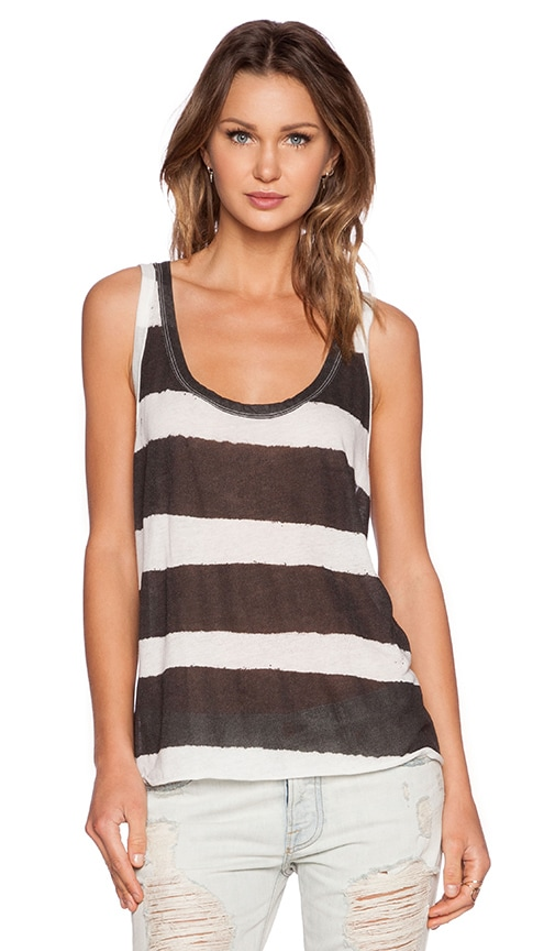 NSF Zuma Tank in Black Stripe