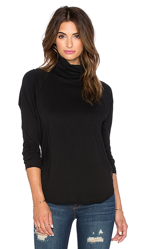 NSF Coco Long Sleeve Tee in Black