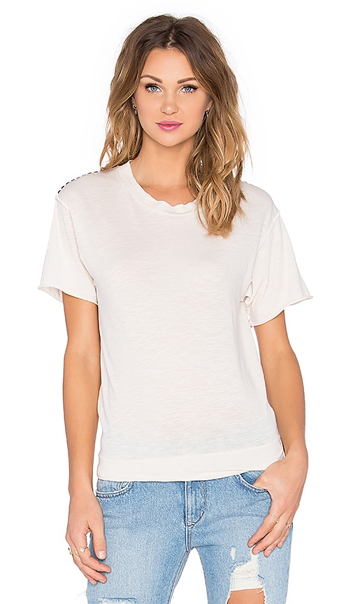 NSF Moore Studded Tee in Natural