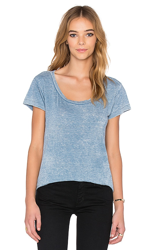 NSF Tallulah Tee in Baby Blue