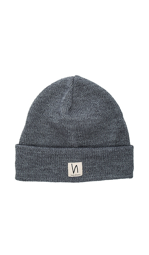 Nudie Jeans Salomonsson Beanie in Grey