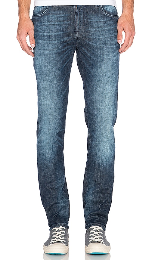 Nudie Jeans Thin Finn in Blue Vision