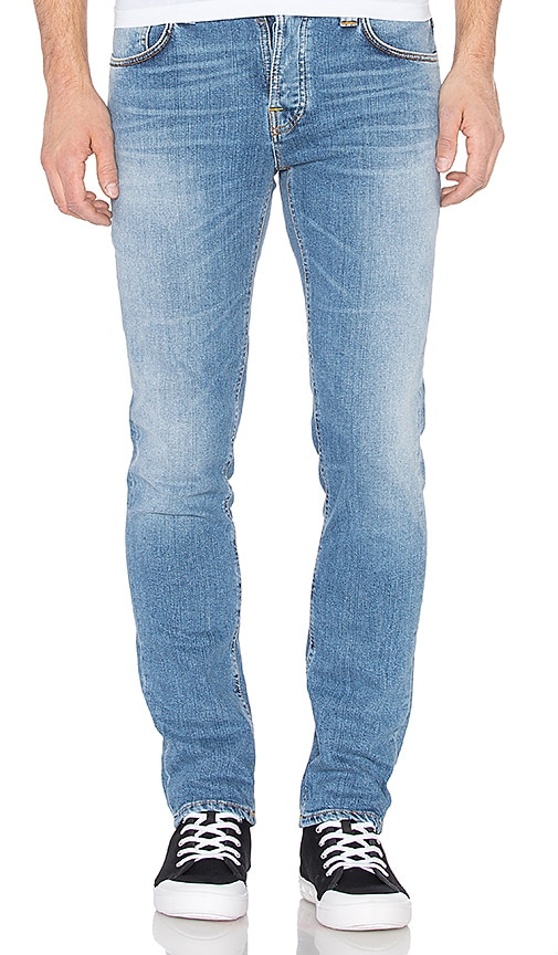 Nudie Jeans Grim Tim in Salty Stone