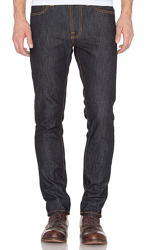 Nudie Jeans Lean Dean in Dry Deep Navy