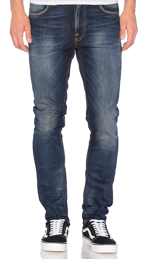 Nudie Jeans Lean Dean in Peel Blue