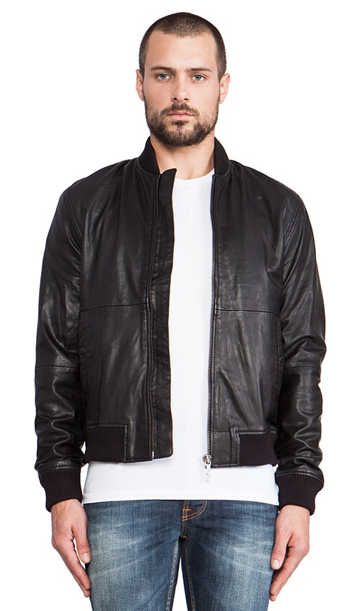 Cedrik Leather Bomber