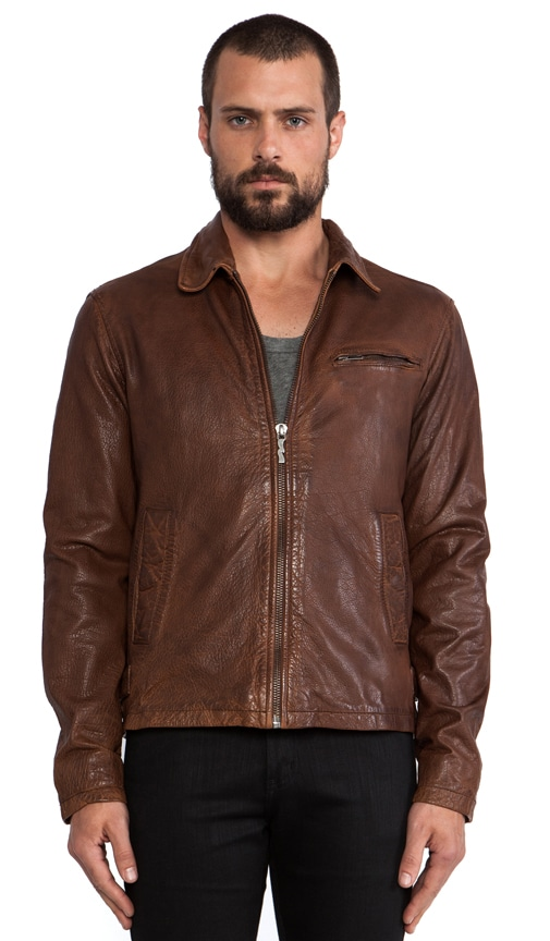 Ervin 50's Leather Jacket