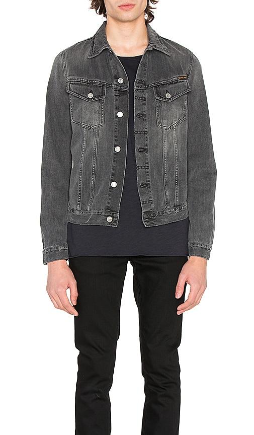 Nudie Jeans Billy Denim Jacket in Desolation Grey