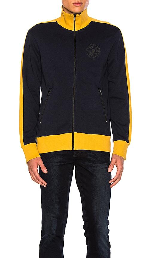 Nudie Jeans Boris Track Suit Jacket in Navy