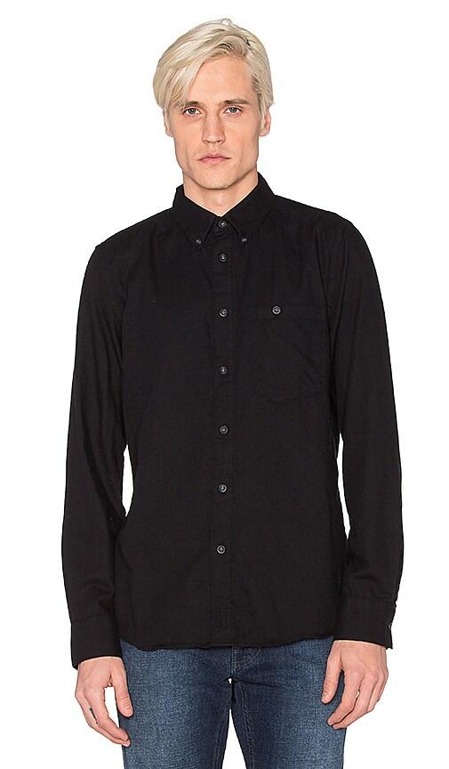 Nudie Jeans Stanley Shirt in Black