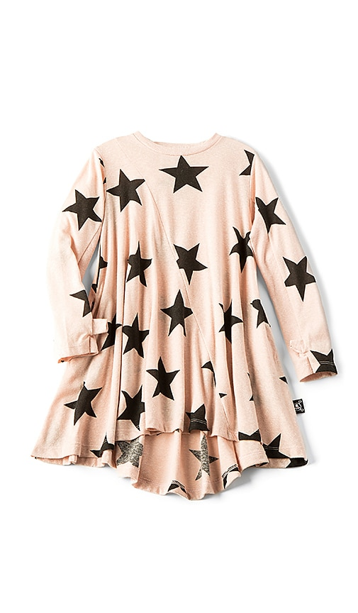 Nununu 360 Star Dress in Blush