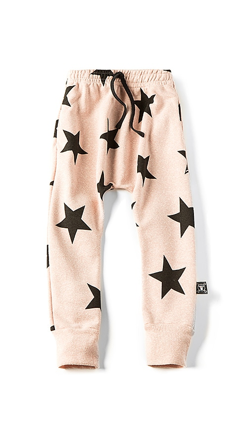 Nununu Star Baggy Pant in Blush