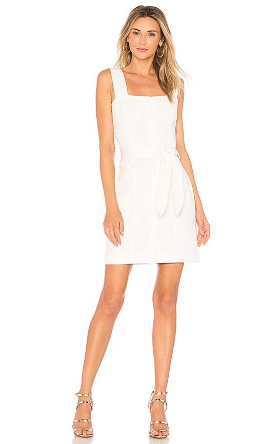 Nanushka Nuria Dress in White