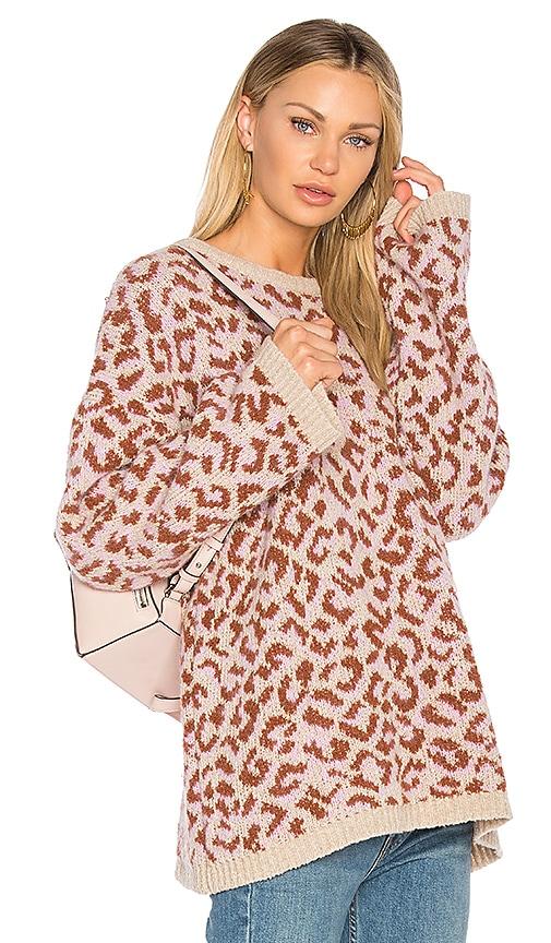 Nanushka Molo Sweater in Pink