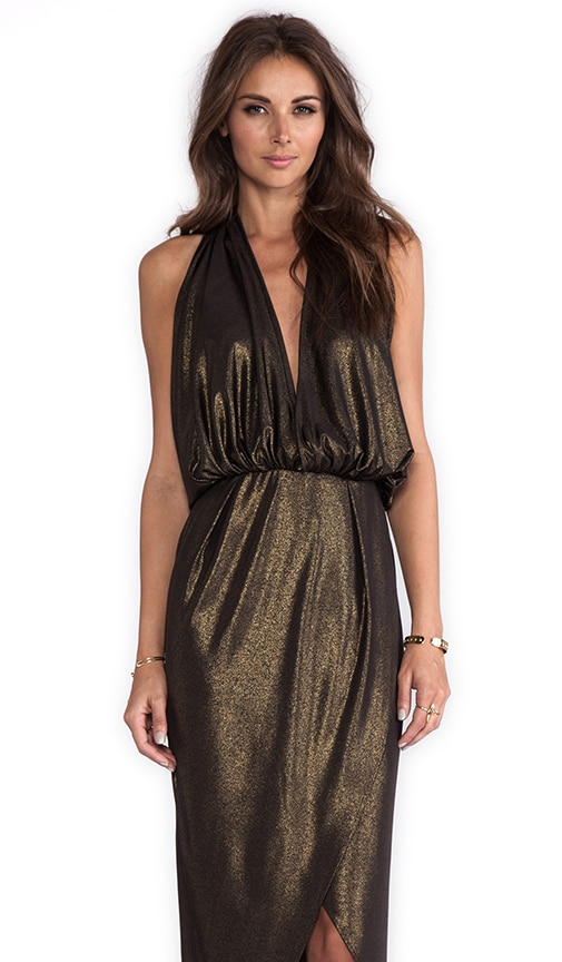 Glam Halter Dress