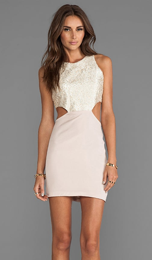 2 Tone Cut Out Dress