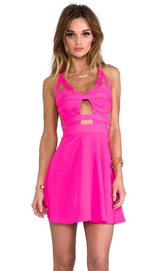 x REVOLVE Bondage Bustier Circle Skirt Dress