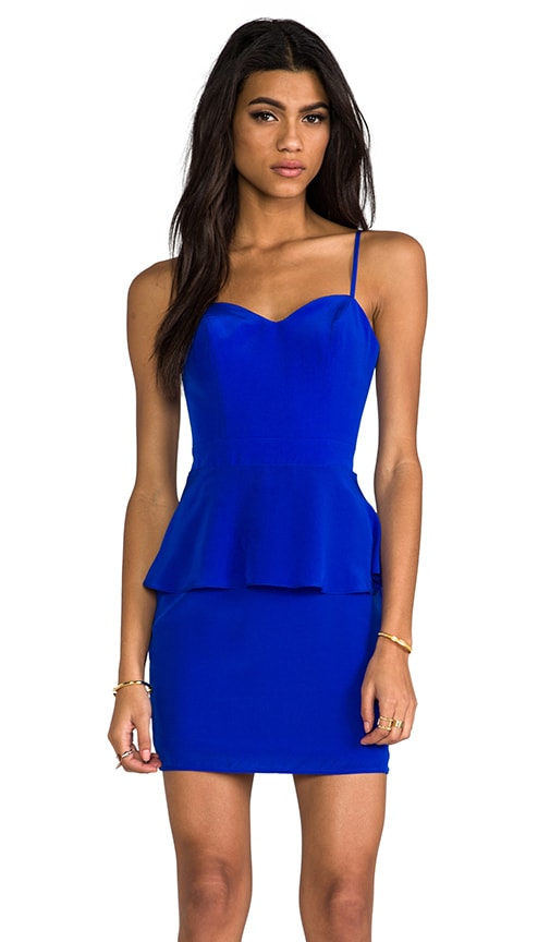 Heartthrob Peplum Dress
