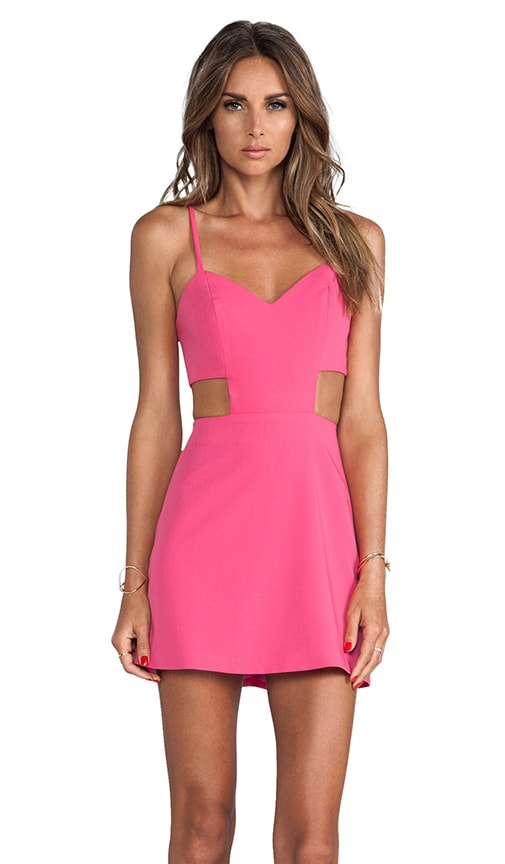 Sweetheart Cutout Dress