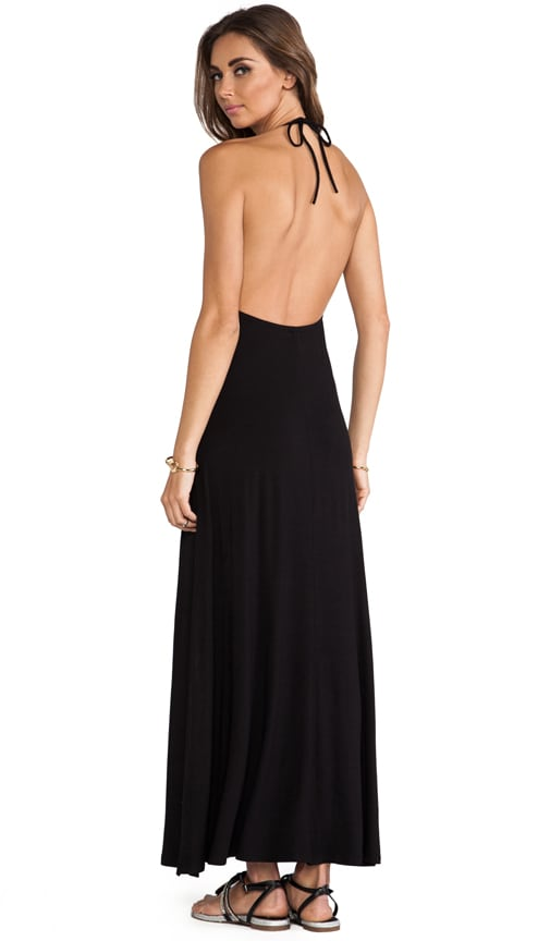Halter Cut Out Maxi Dress