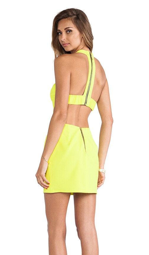 T Back Cutout Dress